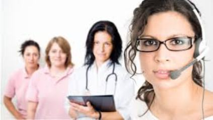Caring Nurses and Receptionist to Help You